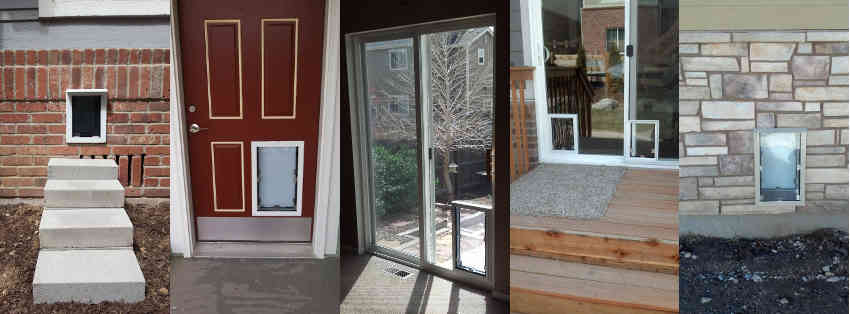 Proudly Serving Colorado - Sliding Glass Patio Dog Doors In Denver And The Front Range. The