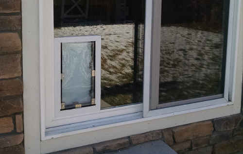 dog door for patio door